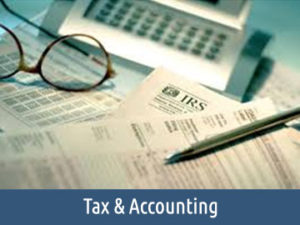 tax accounting home icon